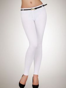 Legginsy Model 020 White
